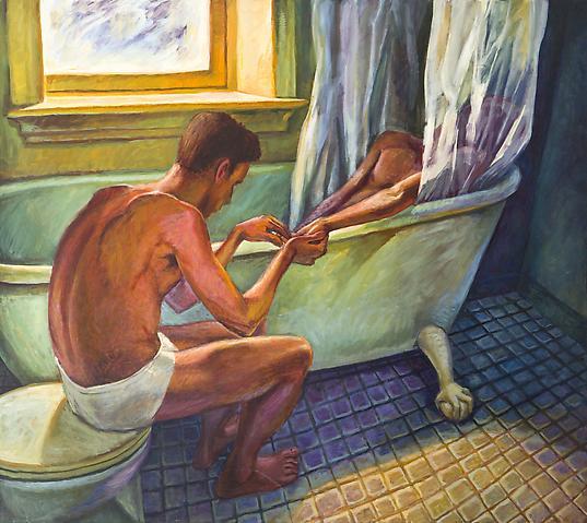 Hugh Steers_Bath Curtain
