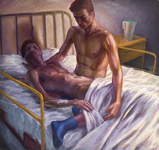 Hugh Steers_Hospital Bed