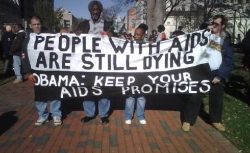 AIDS Activists_Health Gap