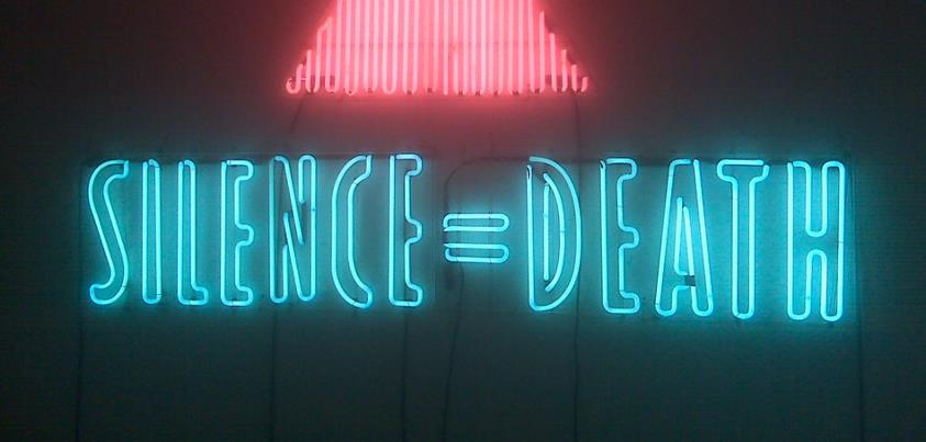 Silence=Death Neon