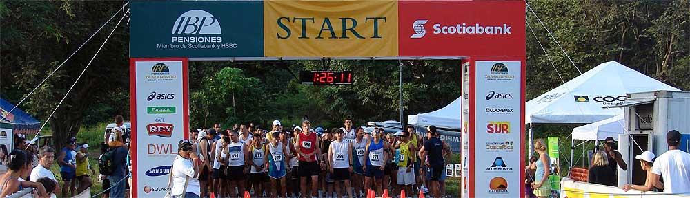 Tamarindo Beach Marathon Start