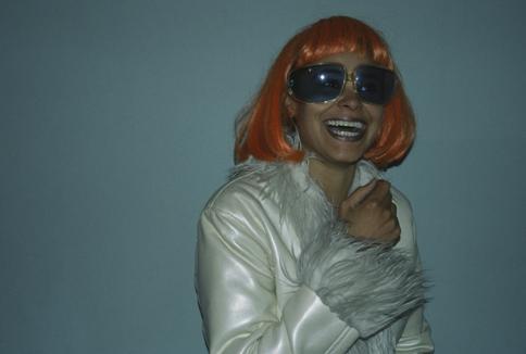 Damaris_Orange Wig